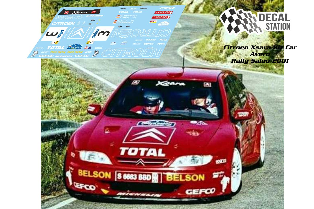 Citroen Xsara Kit Car Avero Salou 2001