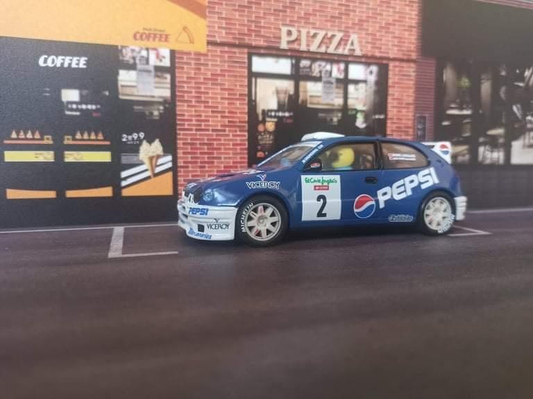 Toyota Corolla WRC Rally El Corte Inglés 2001