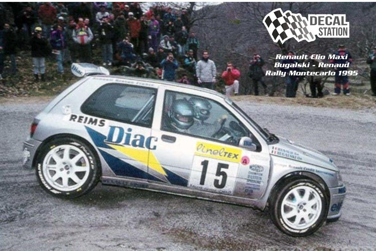 Renault Clio Maxi Bugalski Montecarlo 95