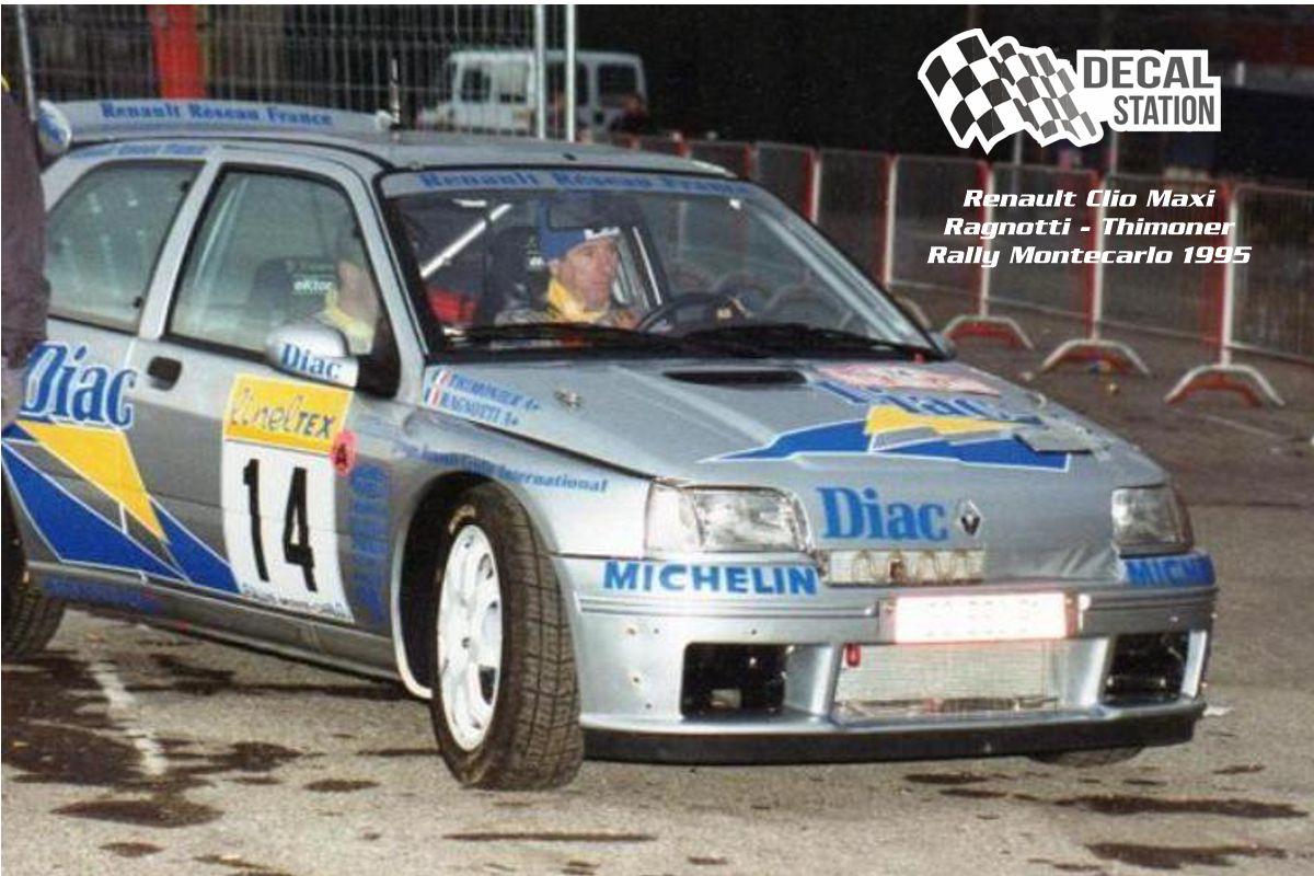 Renault Clio Maxi Ragnotti Montecarlo 95