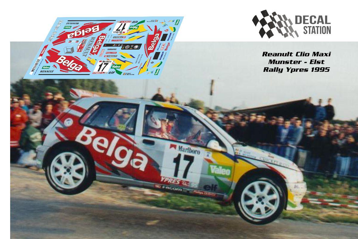 Renault Clio Maxi Munster Ypres 1995