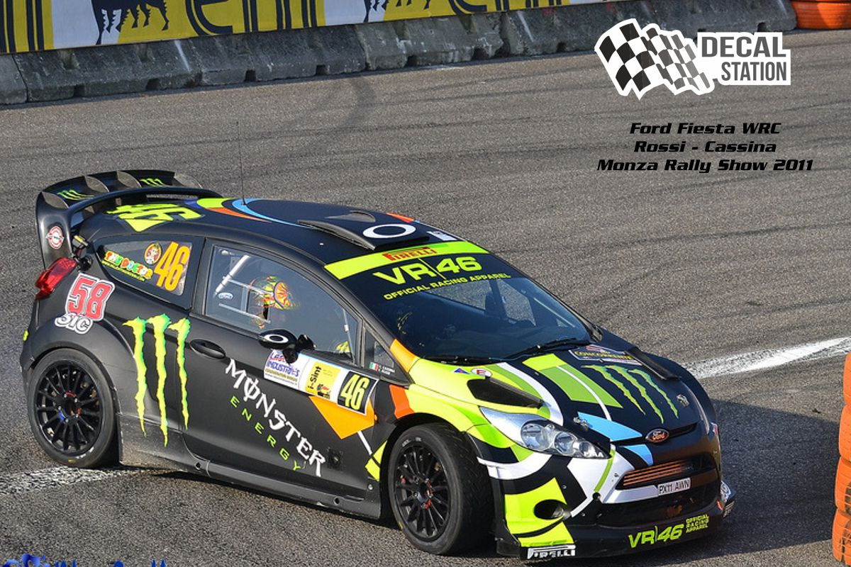 Ford Fiesta WRC Rossi Monza Rally Show 2011