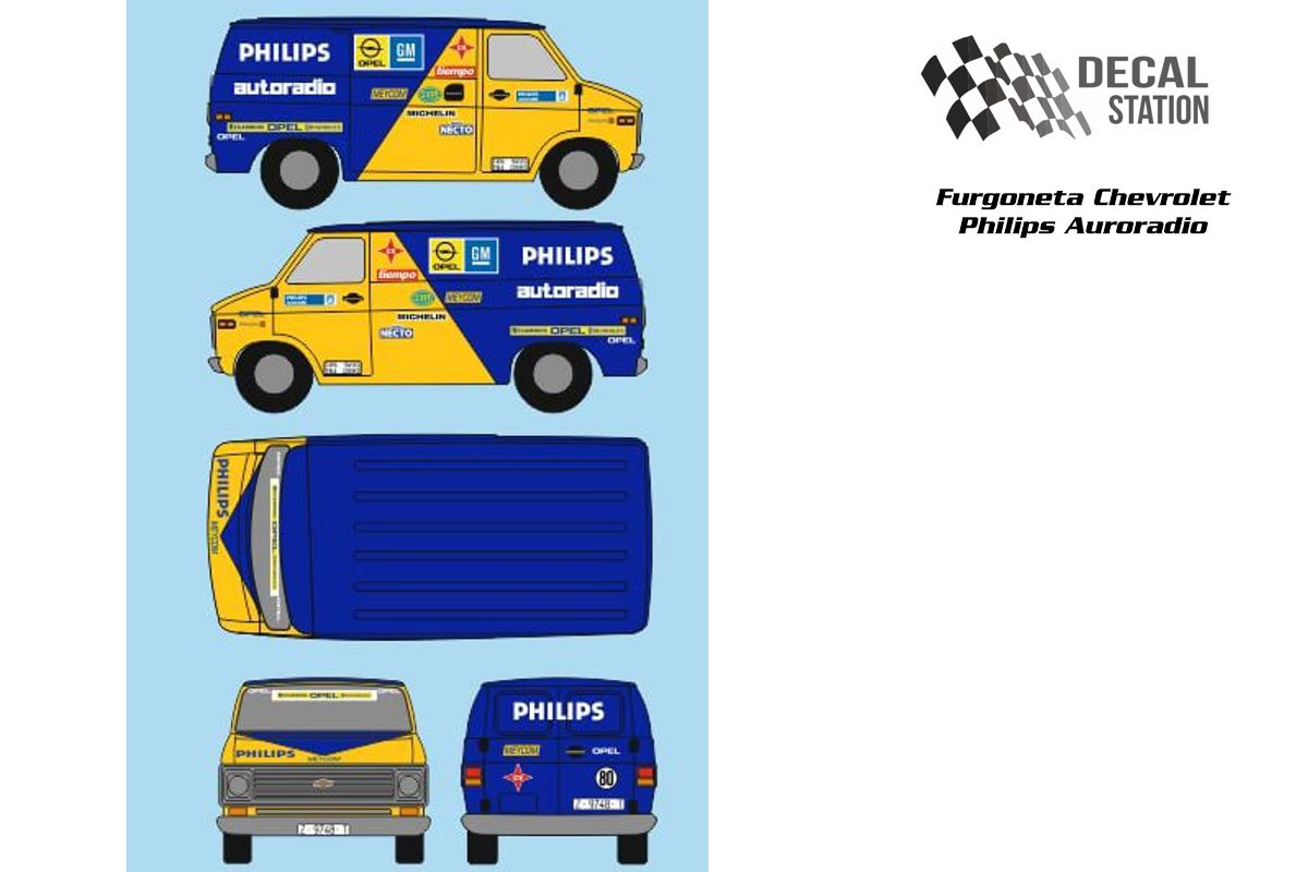 Chevrolet Furgoneta Asistencia Philips