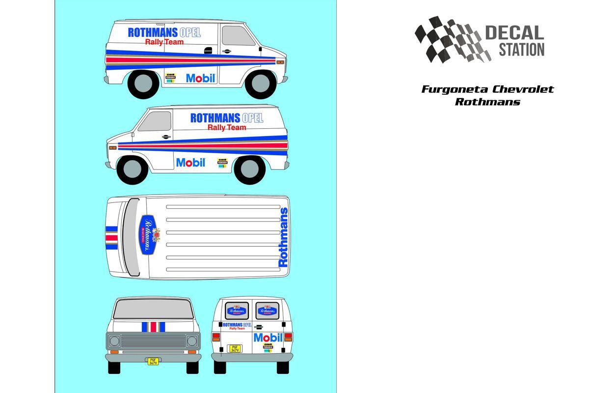 Chevrolet Furgoneta Asistencia Rothmans
