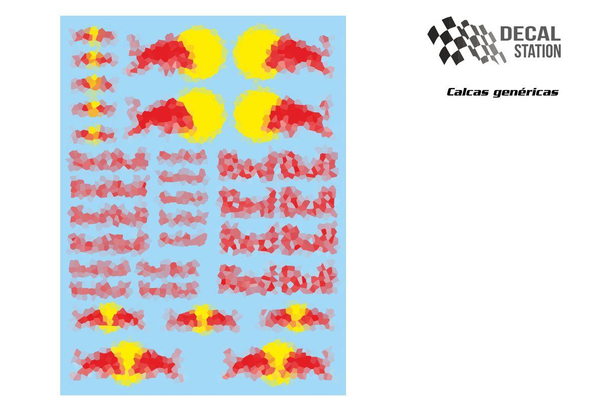 Calcas genéricas logos Rb